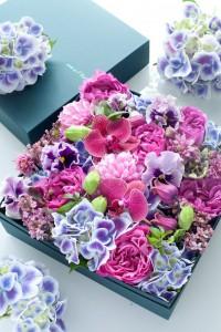 紫陽花リングピロー