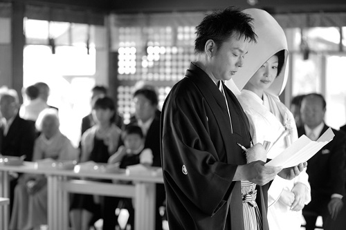 美しき日本の神前式